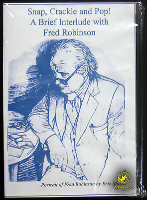 Fred Robinson's Snap Crackle And Pop :: NEW DVD