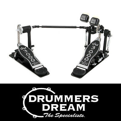 DW 3000 Series Double  Bass Drum Kick Pedal - DWCP3002 - Dual Chain.