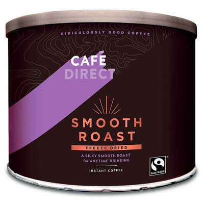 Cafe Direct 500g Fairtrade Smooth Roast Coffee