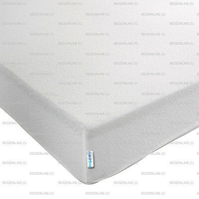 New Economy Memory Foam Orthopedic Mattress 3Ft Single 2 Way Stretch Fabric