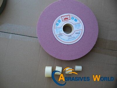 """1x200mm 8"""" Bench Grinder Stone Grind Wheel and plastic washer for grinding metal"""