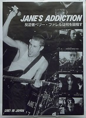 Jane's Addiction 25x38 Live In Japan Poster