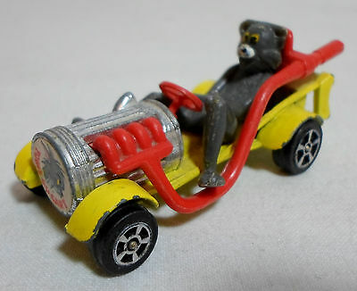 CORGI JUNIORS VTG 1940 TOM & JERRY 3'' TOM's GO CART DIE-CAST CAR GT.BRITAIN