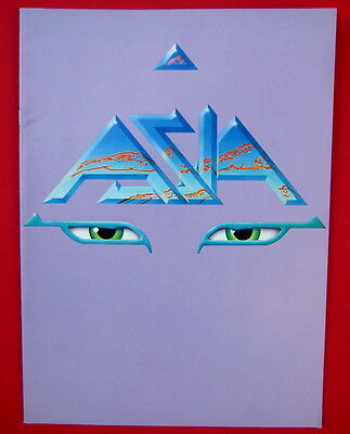 Asia 1983 tour program mint.unused 24 pages