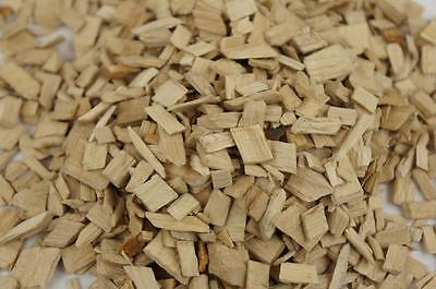 50L Wood Chip Coloured Garden Mulch Flower Bark Cork Wedding Decorative NATURAL