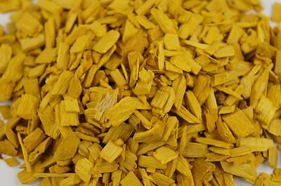 50L Wood Chip Coloured Garden Mulch Flower Bark Cork Wedding Decorative YELLOW