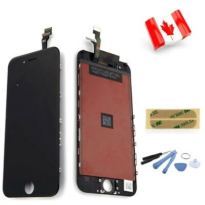 "Replacement For iPhone 6 4.7"" Black LCD Touch Display Digitizer Screen Assembly"
