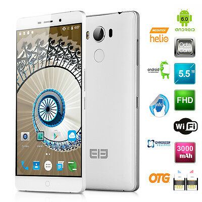 5.5'' Elephone P9000 1080P Android 6.0 Octa Core Smartphone 4GB RAM 4G Cellulare