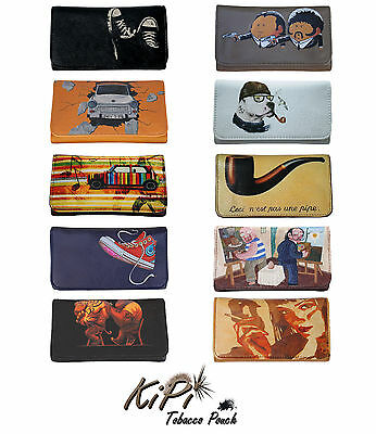 Tobacco Pouch Case Wallet Bag Cool Collection Present Gift For Rollers Smokers