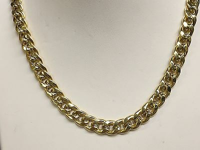 "14k Gold Miami Cuban Curb Link 20"" 7.4 mm 17 Grams chain/Necklace (REL)"