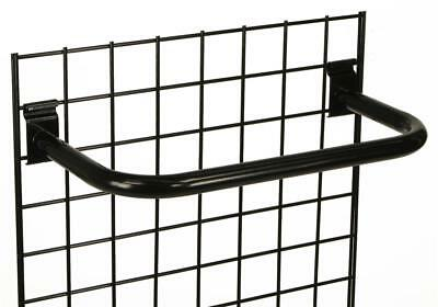 "24"" Metal ""C"" Rail Gridwall Hanging Bar Gridwall Slatwall Hook Metal Display"