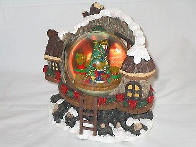 Lord & Taylor Revolving Musical Snow Globe