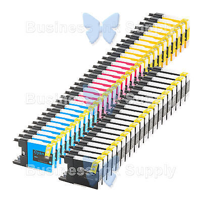50 PACK LC71 LC75 Compatible Ink Cartirdge for BROTHER Printer MFC-J435W LC75
