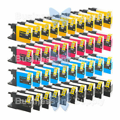 40 PACK LC71 LC75 NON-OEM Ink for BROTHER MFC-J430W LC-71 LC-75 LC71 LC75 LC79