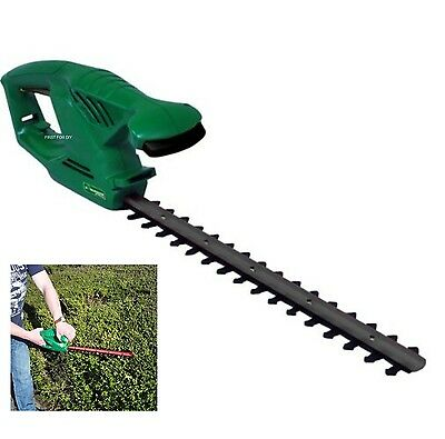 "Heavy Duty 450W 18"" Blade Electric Tree Bush Hedge Trimmer Cutter Saw Warranty"