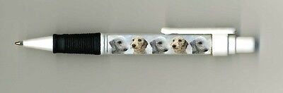 Bedlington Terrier Dog Design Retractable Acrylic Ball Pen PBED1P-by paws2print