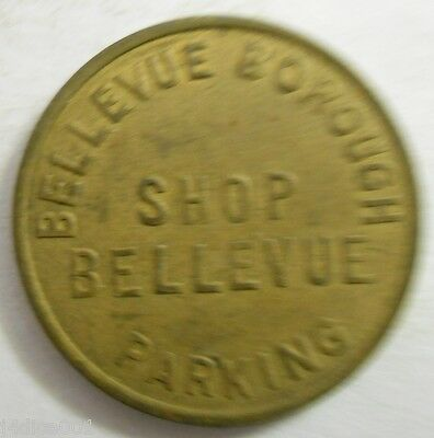Bellevue, Pennsylvania parking token - PA3075A