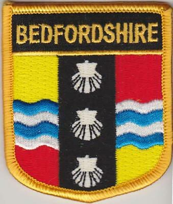 Cambridgeshire England County Flag Embroidered Patch T7