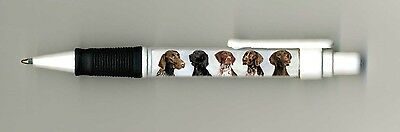 German Shorthaired Pointer Dog Design Retractable Acrylic Ball Pen by paws2print