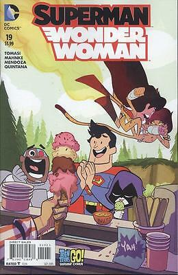 Superman Wonder Woman #19 Teen Titans Go Var  NEW!!!