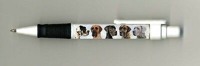 Great Dane Dog Design Retractable Acrylic Ball Pen paws2print