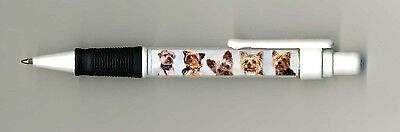 Yorkshire Terrier Dog Design Retractable Acrylic Ball Pen PYORKPET by paws2print