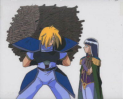 Slayers Anime Cel Douga Gourry x Sylphiel Animation Art HOT!