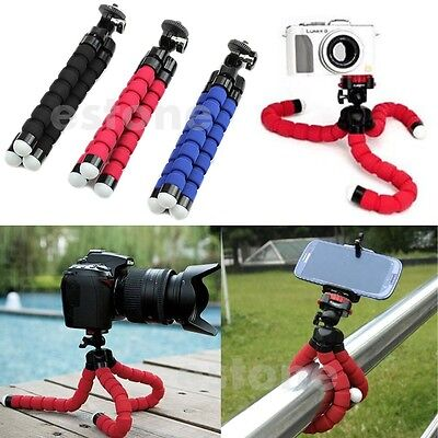 Mini Octopus Flexible Tripod Holder Mount Stand for Mobile Phone and Camera Hot