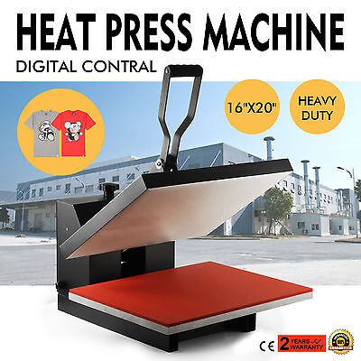 "16"" X 20"" Heat Press Transfer T-Shirt Sublimation Printer Printing Machine"
