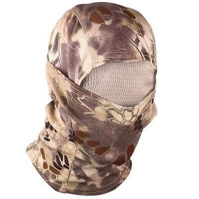 New Durable Outdoor Quick-Drying Hood Balaclava Full Face Mask Hld Camo