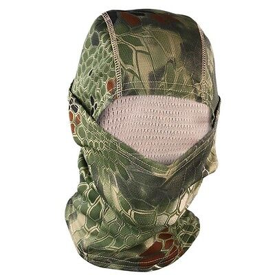 Tactical Military Outdoor Quick-Drying Hood Balaclava Full Face Mask Jungle