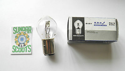 STANDARD 12v FRONT BULBS - PACK OF 10. FOR ANY SCOOTER/ BIKE. LAMBRETTA  /VESPA