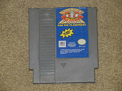 ***captain Planet And The Planeteers Nes Nintendo Game*