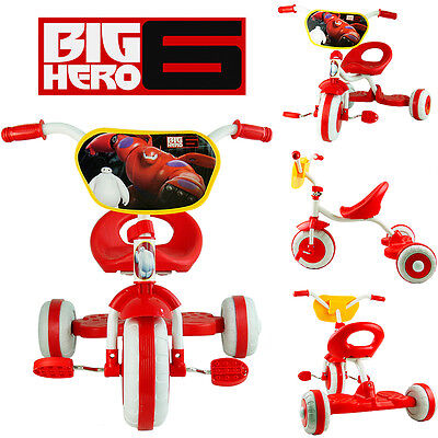Disney Big Hero 6 Baymax Bike Trike Tricycle Kid Child 3 Wheel Car Ride On Toy