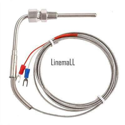 2M EGT K Type Thermocouple Exhaust Probe High Temperature Sensors Threads LM