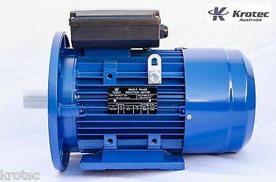 Electric motor single phase 240v 3kw 4hp 2900 rpm B35 Flange