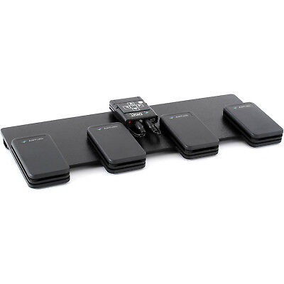AirTurn QUAD Four Pedal Bluetooth Page Turner Pedal Board for Music / Lyrics / S