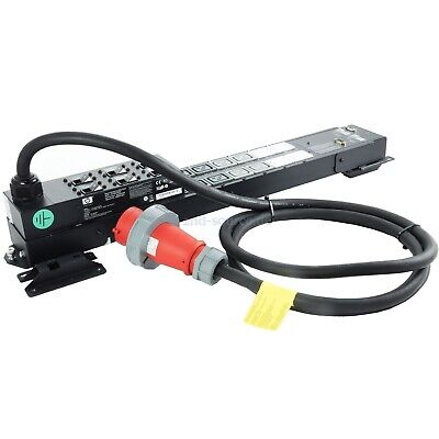 HP 22kVA 32A 380-415V Single Input 3 Phase Monitored PDU AF917A 398923-B31