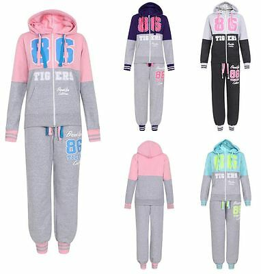 New Girls Brooklyn 86 Tigers Tracksuit 7-13 Years
