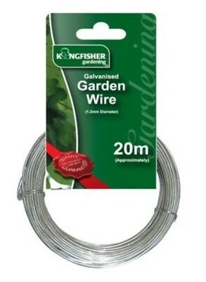 Kingfisher - Galvanised Garden Wire 20m x 1.2mm Approx