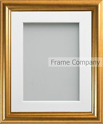 Frame Company Eldridge Range Gold Picture Photo Frames with Choice of Mount