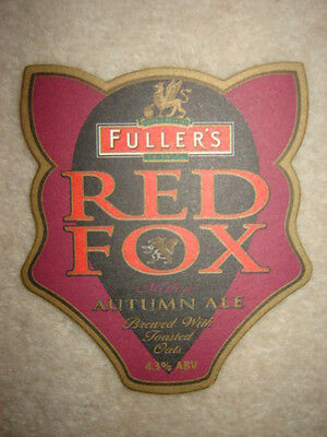 Rare Sous-Bock   RED FOX.
