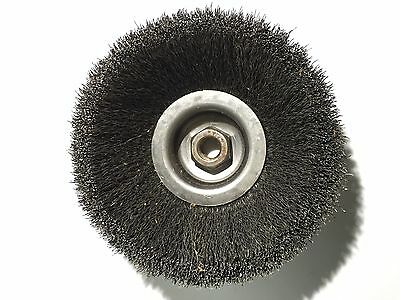 Crimped Wire Cup Brush, 6 In., 0.014 In. (4F717) WEILER