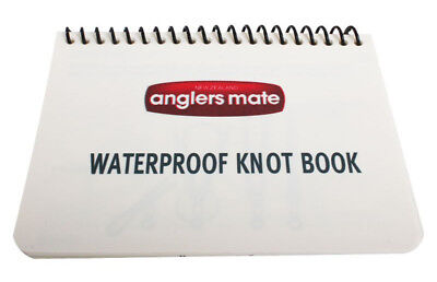 Waterproof Plastic Knot Book Instructions How To Guide 18 Pages