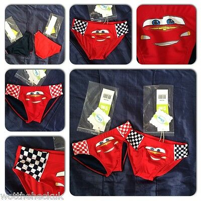 Cars Lightning McQueen Swimming Trunks Shorts Pool Swim Boys Swimsuits Kids