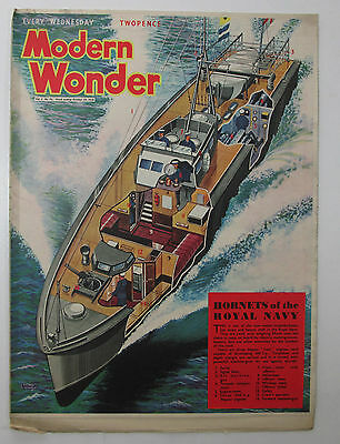 Modern Wonder Magazine Vol 3 no 76 october 29 1938 Hornets of the Royal Navy