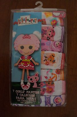 NEW Lalaloopsy Toddler Girls Panties Underwear 7 Pack Nickelodeon