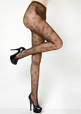 Lady's Women's Queen Size Fashion Designed Fishnet Pantyhose Tights