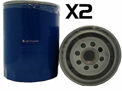 2x Oil Filter Suits Z9 FORD TOYOTA MAZDA COMMER LANDROVER MITSUBISHI