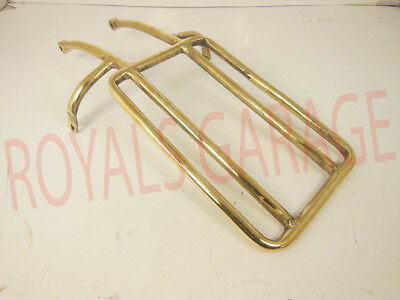 New Royal Enfield Classic Electra Rear Pillion Seat Carrier Brass Coated